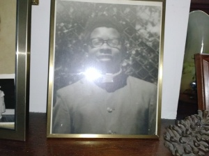 Younger brother James as a teen